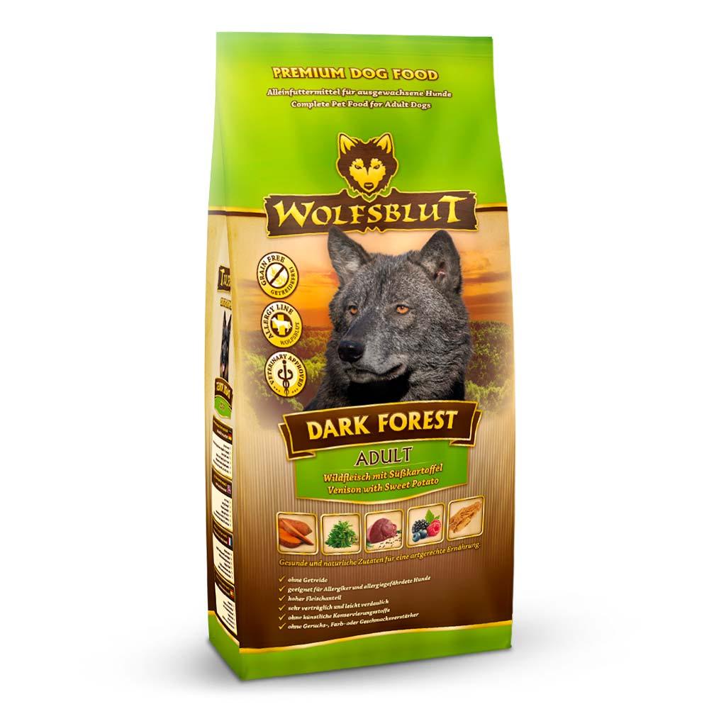 7,5 kg | Wolfsblut | Dark Forest Adult | Trockenfutter | Hund