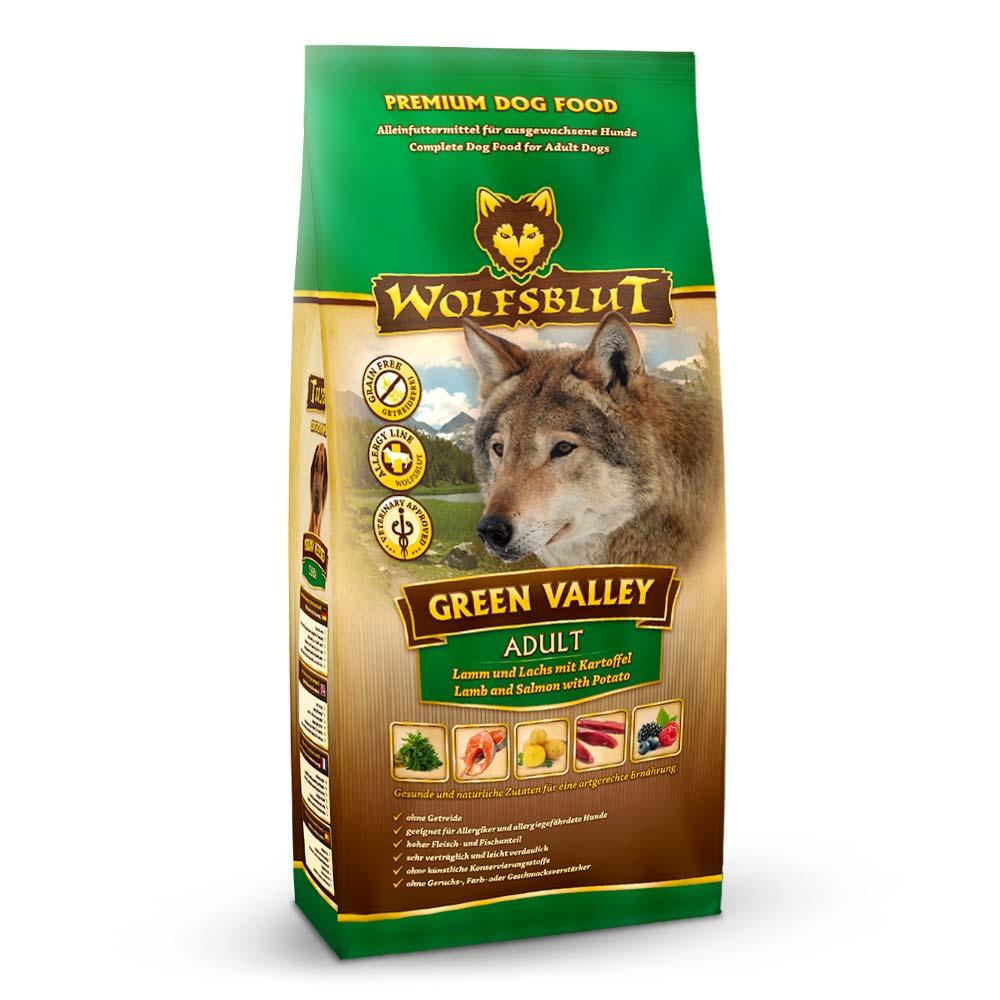 4 x 2 kg | Wolfsblut | Green Valley Adult | Trockenfutter | Hund