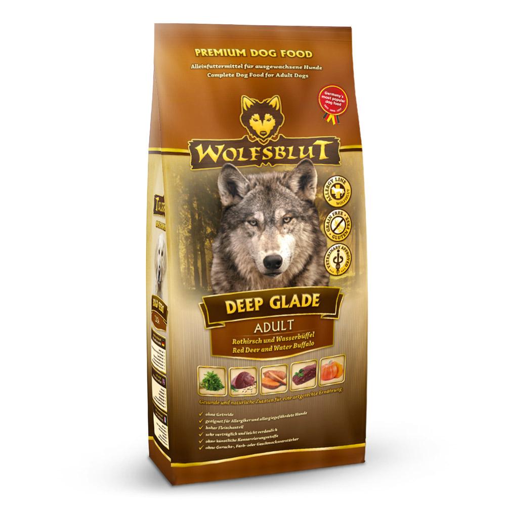 4 x 2 kg   Wolfsblut   Deep Glade Adult   Trockenfutter   Hund