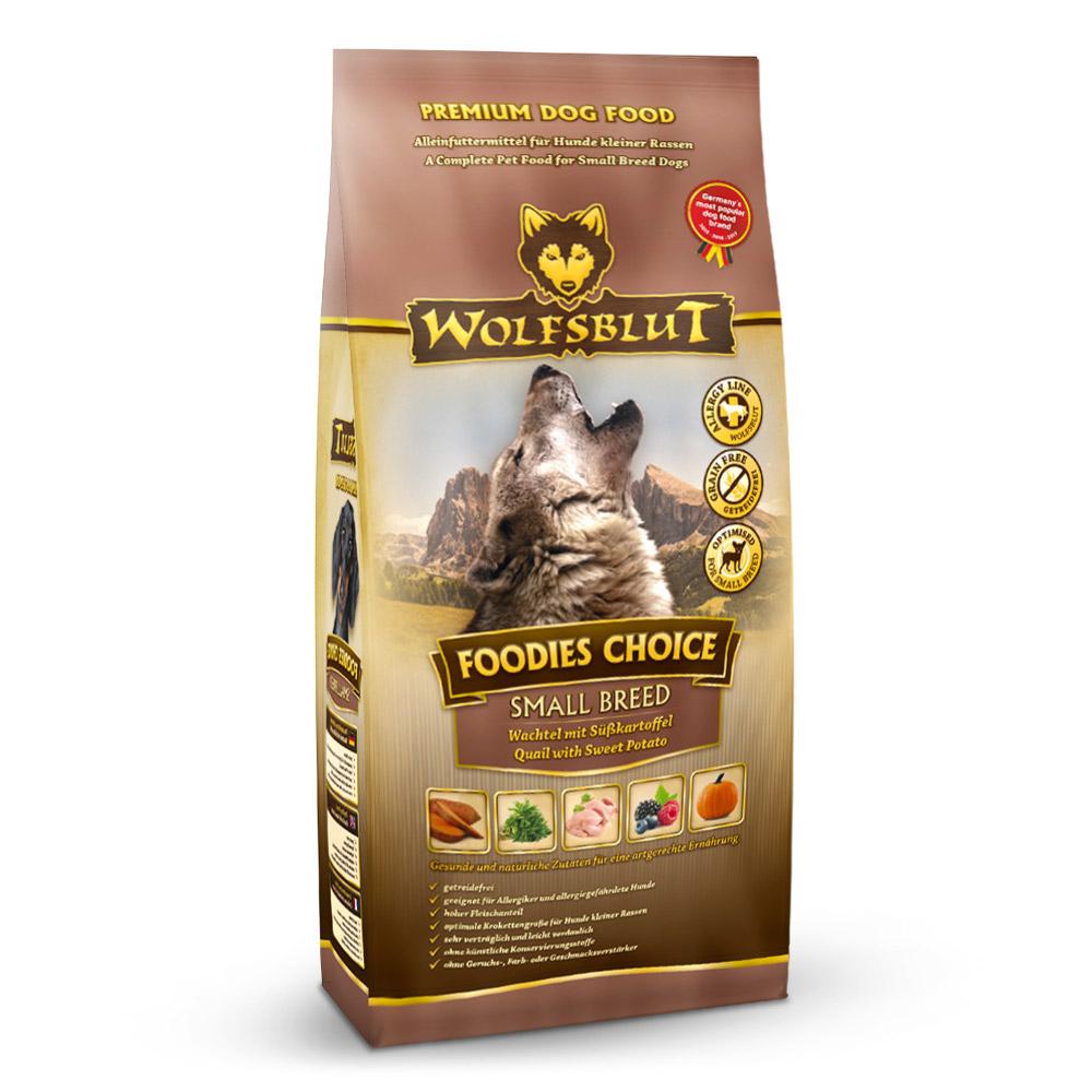 4 x 2 kg | Wolfsblut | Foodies Choice Small Breed | Trockenfutter | Hund