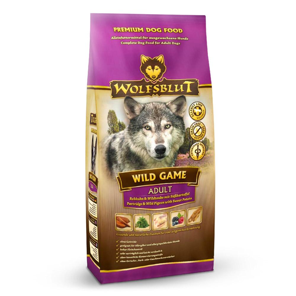4 x 2 kg | Wolfsblut | Wild Game Adult | Trockenfutter | Hund