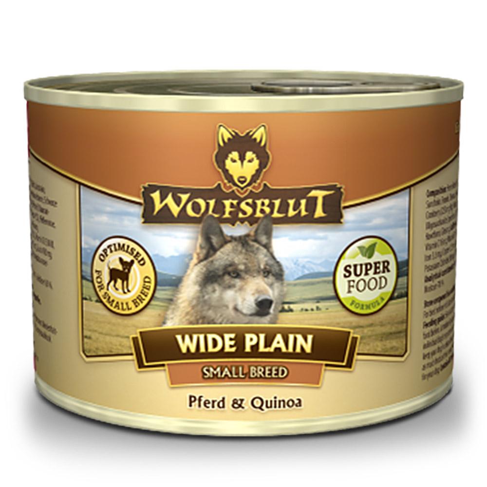 6 x 200 g | Wolfsblut | Wide Plain Quinoa Small Breed | Nassfutter | Hund