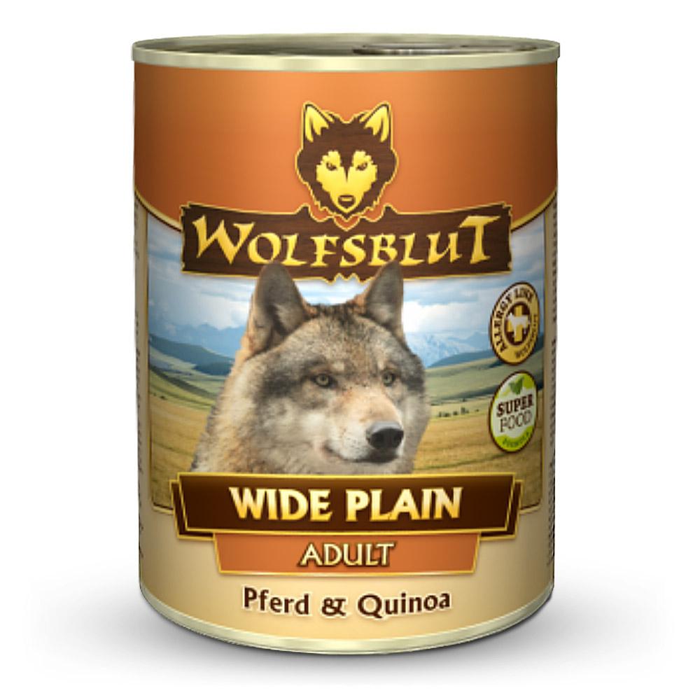 395 g | Wolfsblut | Wide Plain Quinoa Adult | Nassfutter | Hund