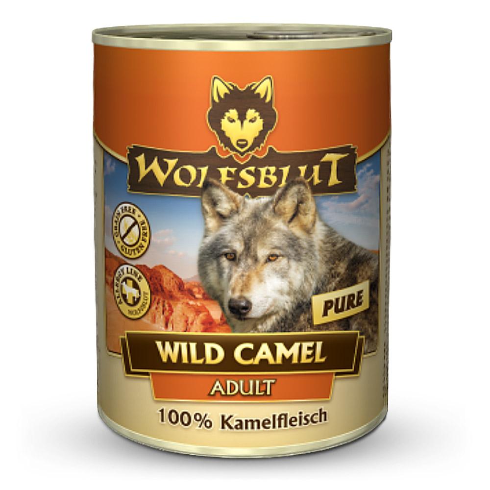 24 x 800 g | Wolfsblut | Wild Camel Adult | Nassfutter | Hund