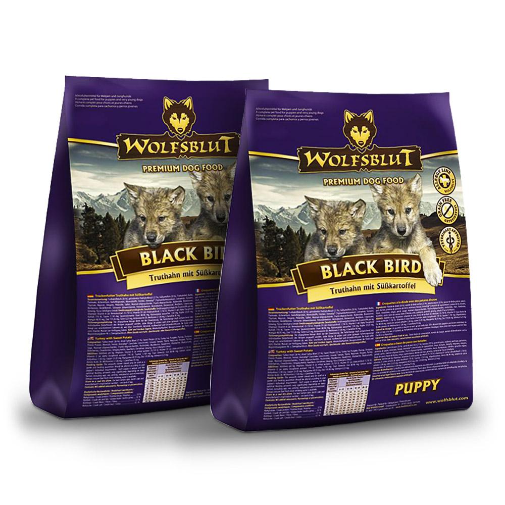 2 x 15 kg | Wolfsblut | Black Bird Puppy | Trockenfutter | Hund