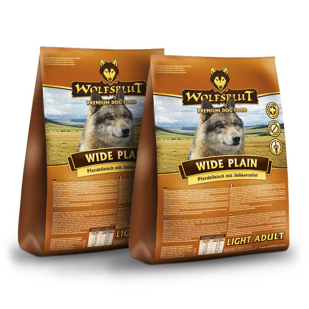 2 x 15 kg   Wolfsblut   Wide Plain Light Adult   Trockenfutter   Hund