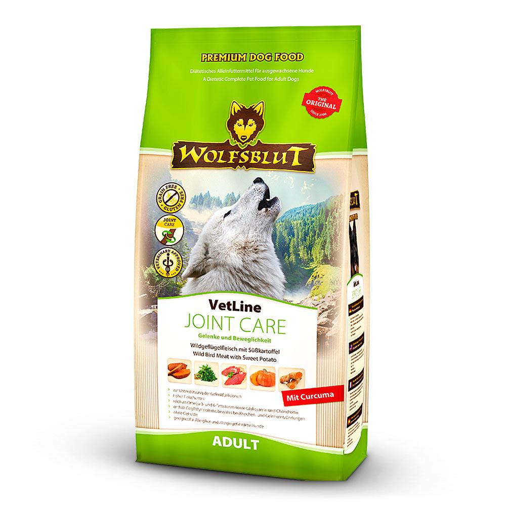 12 kg | Wolfsblut | Joint Care mit Wildgeflügelfleisch und Süßkartoffel VetLine | Trockenfutter | Hund