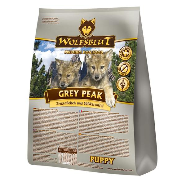 4 x 2 kg | Wolfsblut | Grey Peak Puppy | Trockenfutter | Hund
