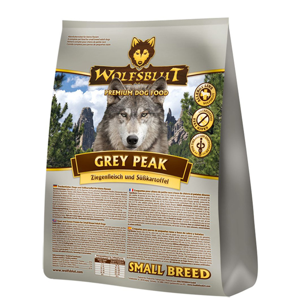 500 g | Wolfsblut | Grey Peak Small Breed | Trockenfutter | Hund