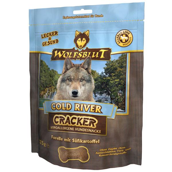225 g | Wolfsblut | Cold River Cracker | Snack | Hund
