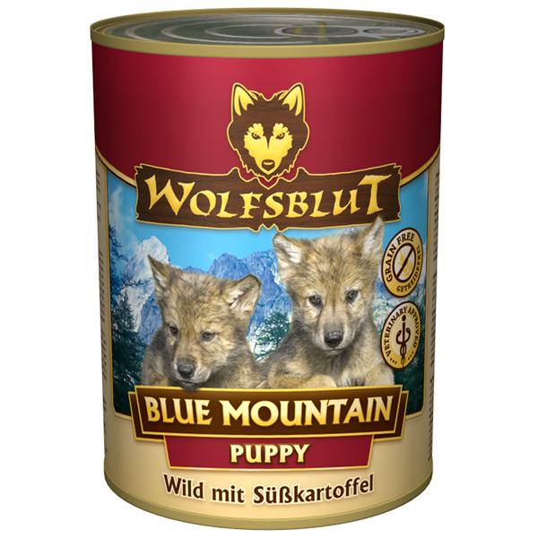 24 x 395 g | Wolfsblut | Blue Mountain Puppy Puppy | Nassfutter | Hund