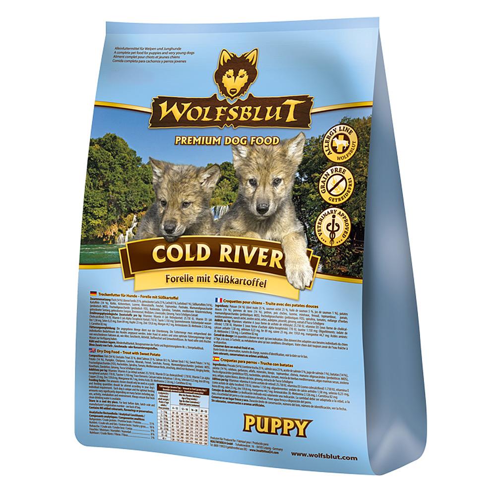 2 kg   Wolfsblut   Cold River Puppy   Trockenfutter   Hund