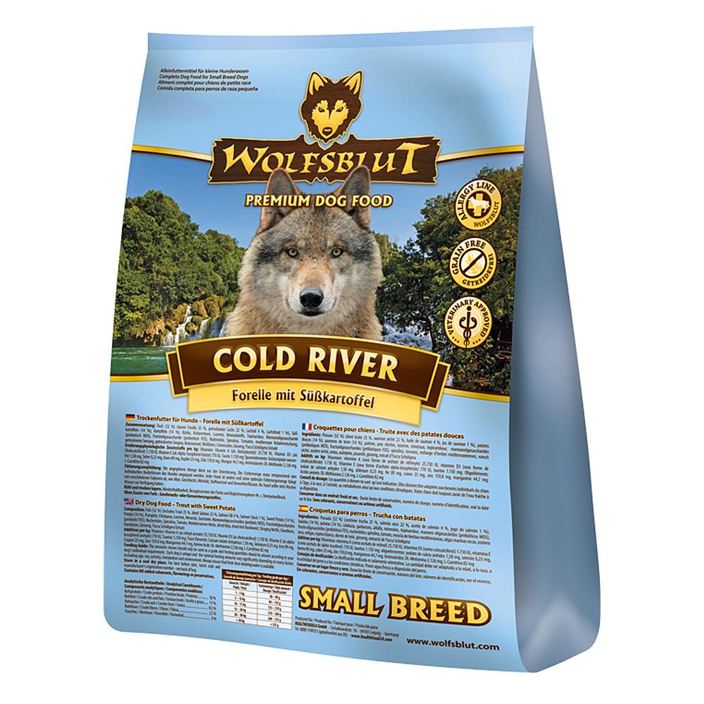 500 g | Wolfsblut | Cold River Small Breed | Trockenfutter | Hund