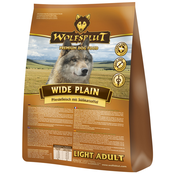 2 kg | Wolfsblut | Wide Plain Light Adult | Trockenfutter | Hund