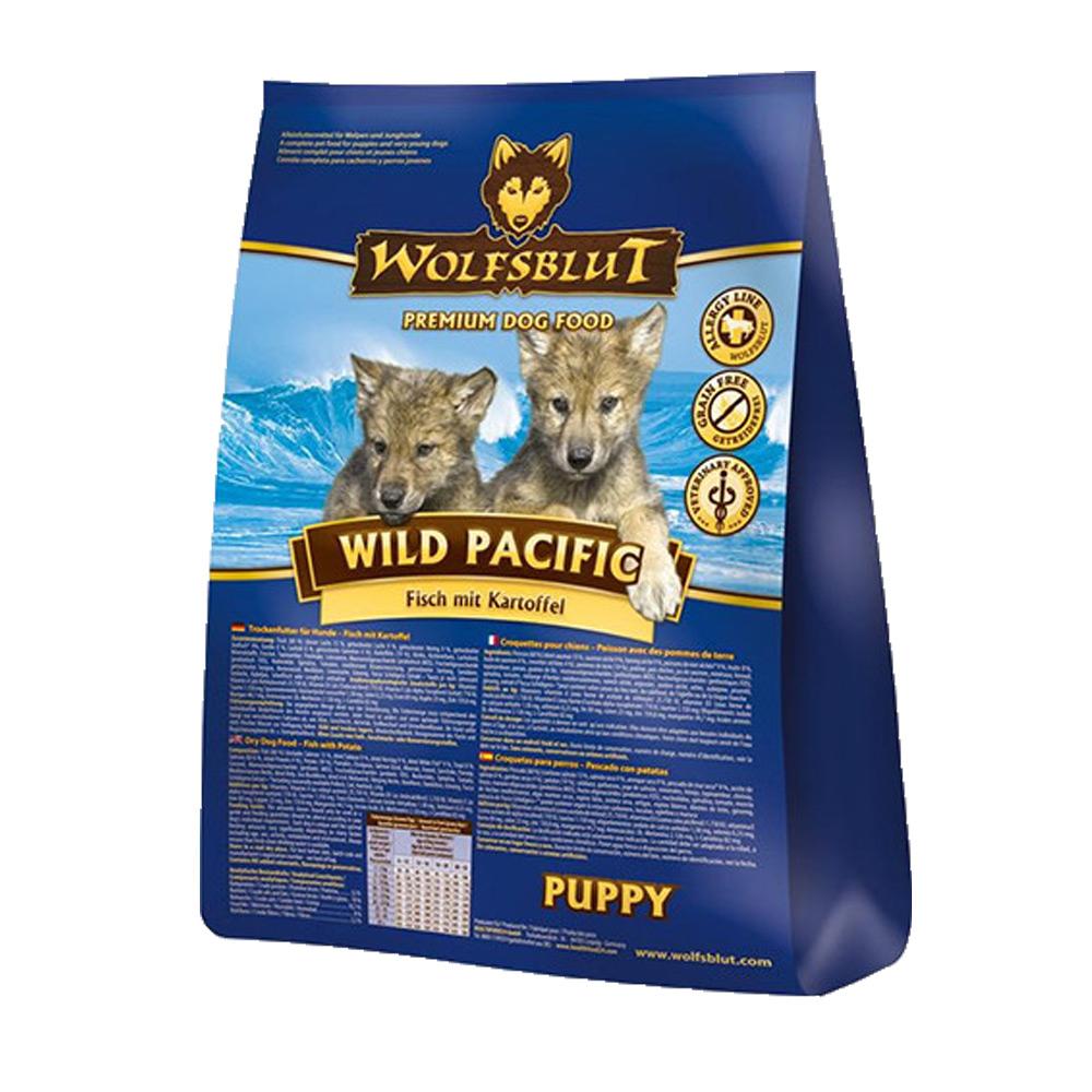 4 x 2 kg | Wolfsblut | Wild Pacific Puppy | Trockenfutter | Hund