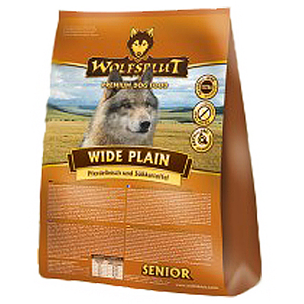 2 kg | Wolfsblut | Wide Plain Senior | Trockenfutter | Hund