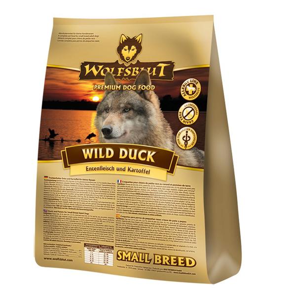4 x 2 kg   Wolfsblut   Wild Duck Small Breed   Trockenfutter   Hund