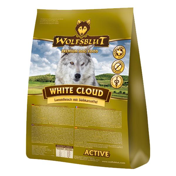 2 kg | Wolfsblut | White Cloud Active Adult | Trockenfutter | Hund