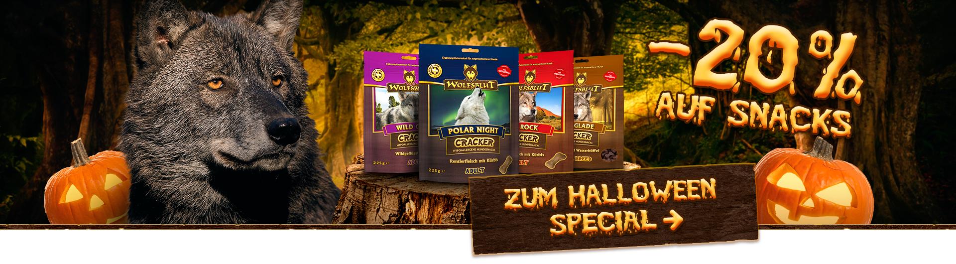 Halloween Special Wolfsblut Cracker